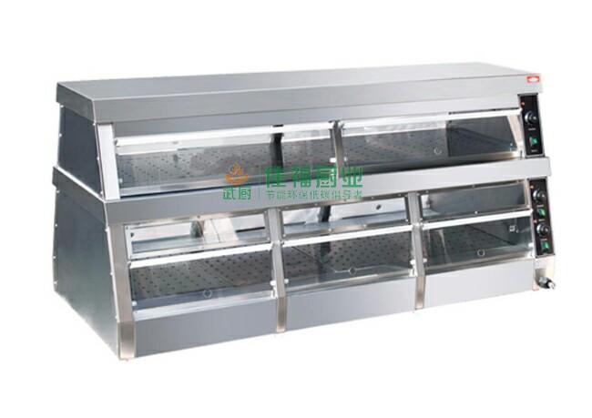 双层陈列保温柜基本型