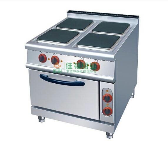 四头电煮食炉连焗炉