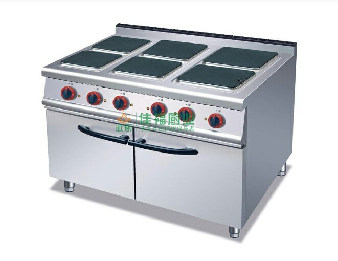 六头电煮食炉连柜座