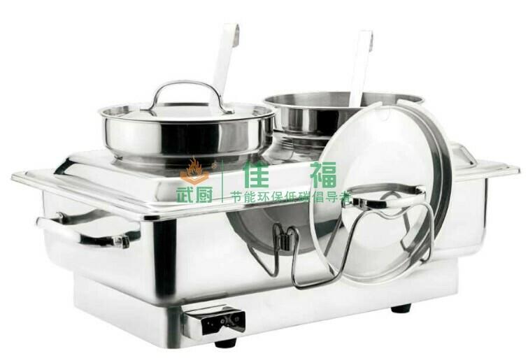 双汤桶全不锈钢电热自助餐汤炉
