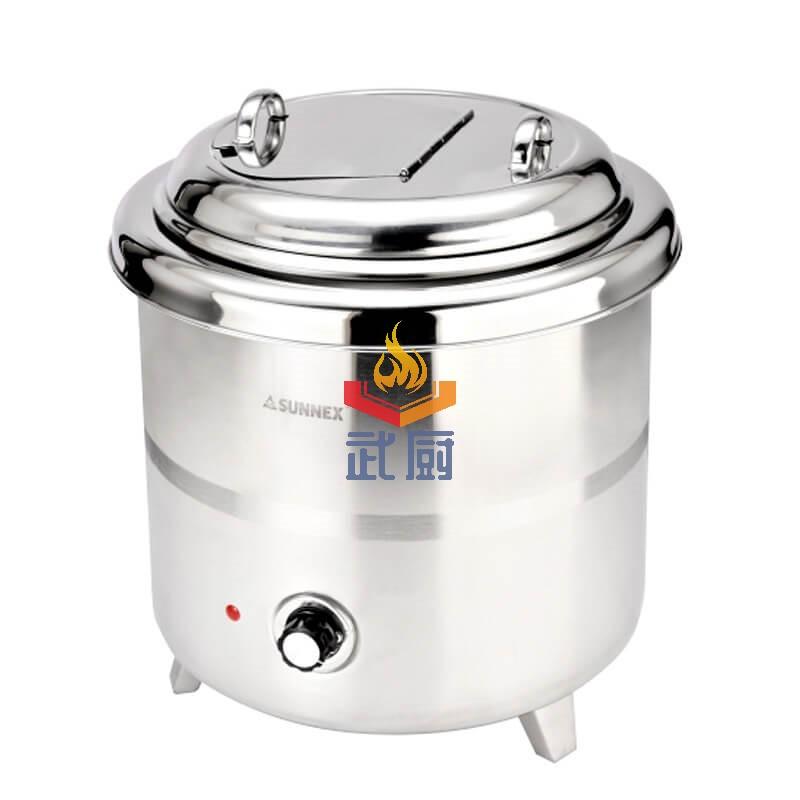 全不锈钢电子暖汤煲 10升大容量