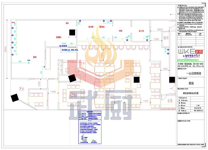 餐厅厨房燃气图